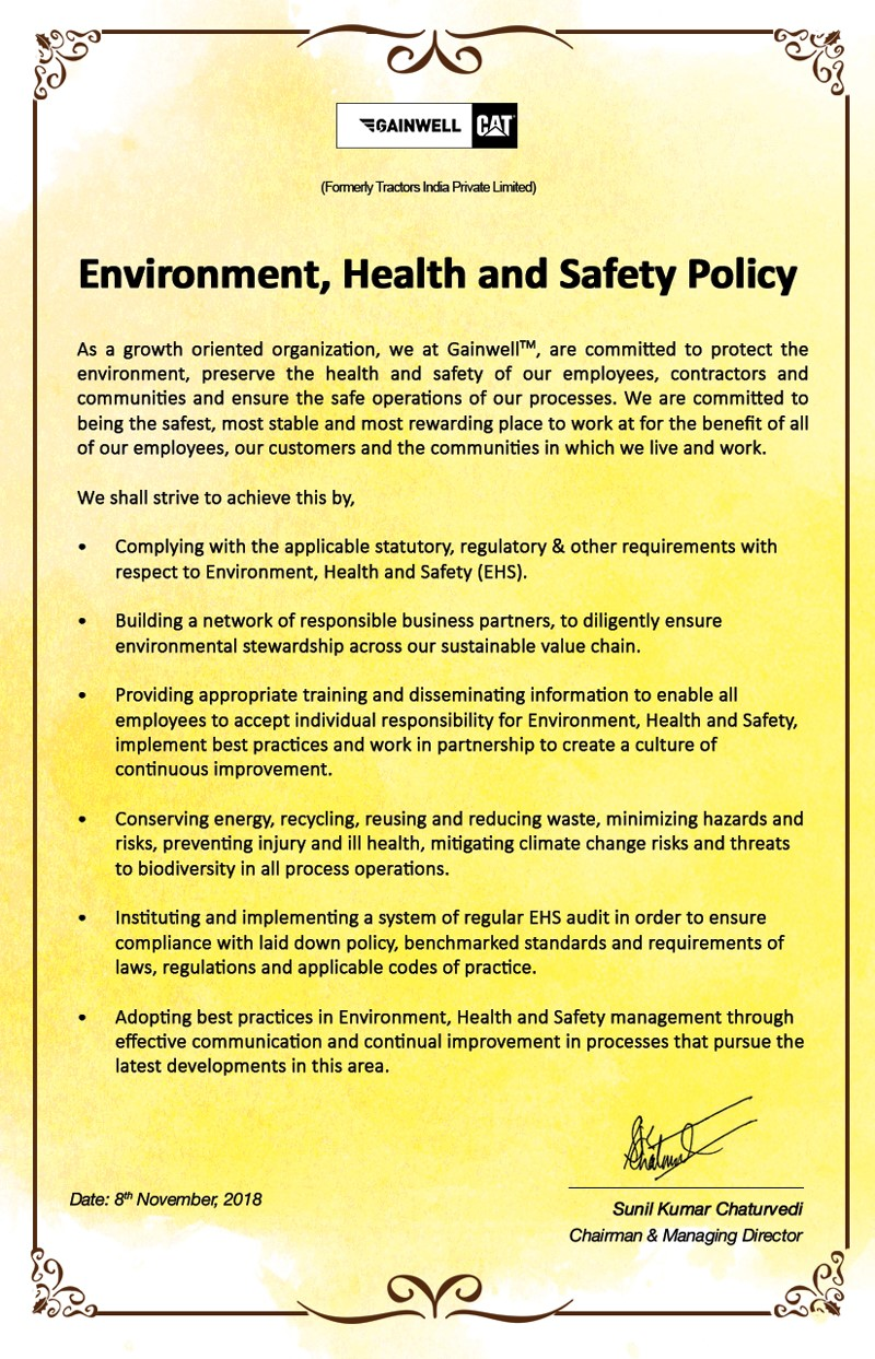 Health and Safety Policy