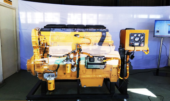Technical Training team unveils Advanced Electronic Engine Simulator