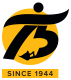 CAT 75 years logo