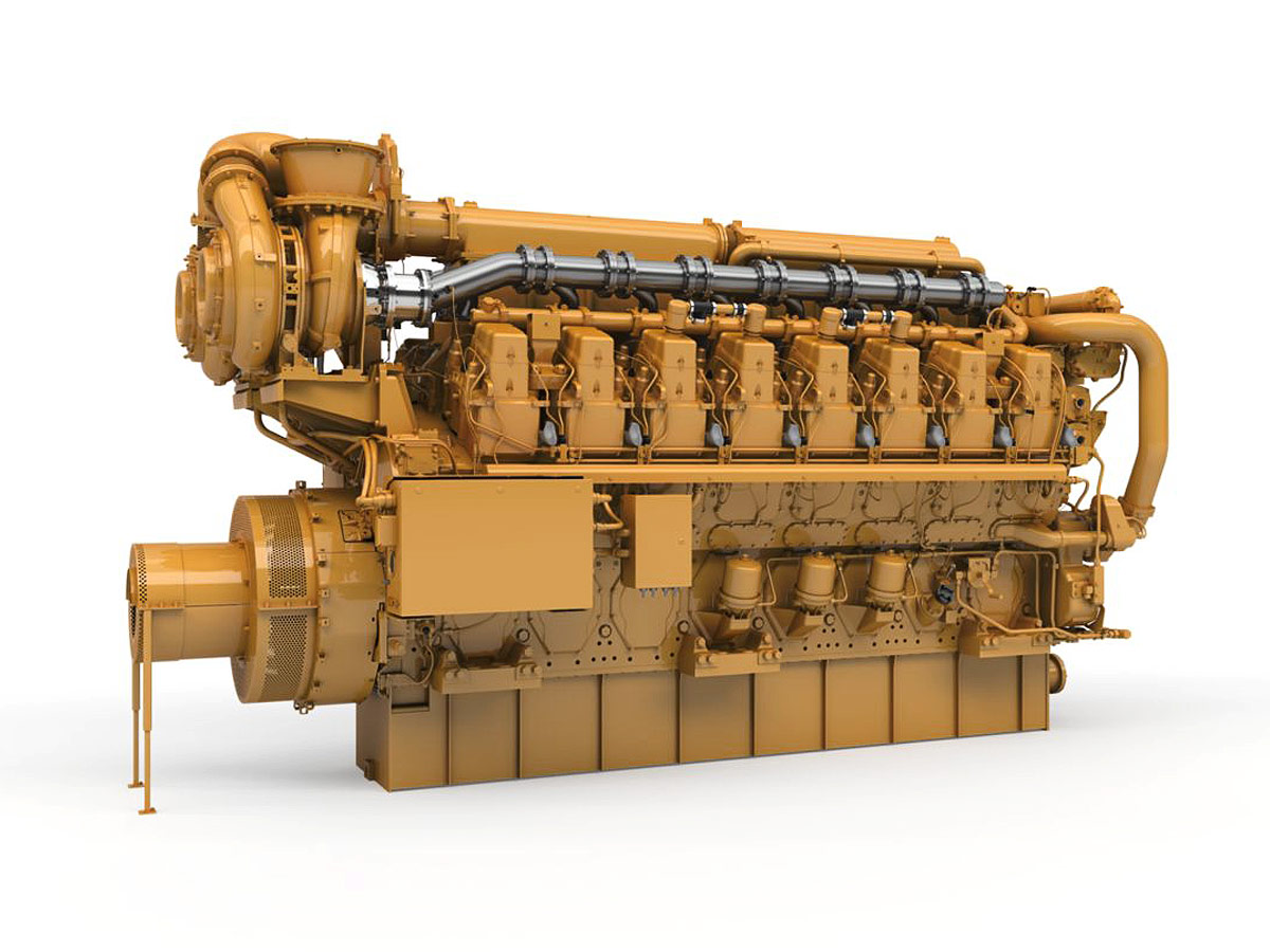 Cat Marine Generator Set C280-16