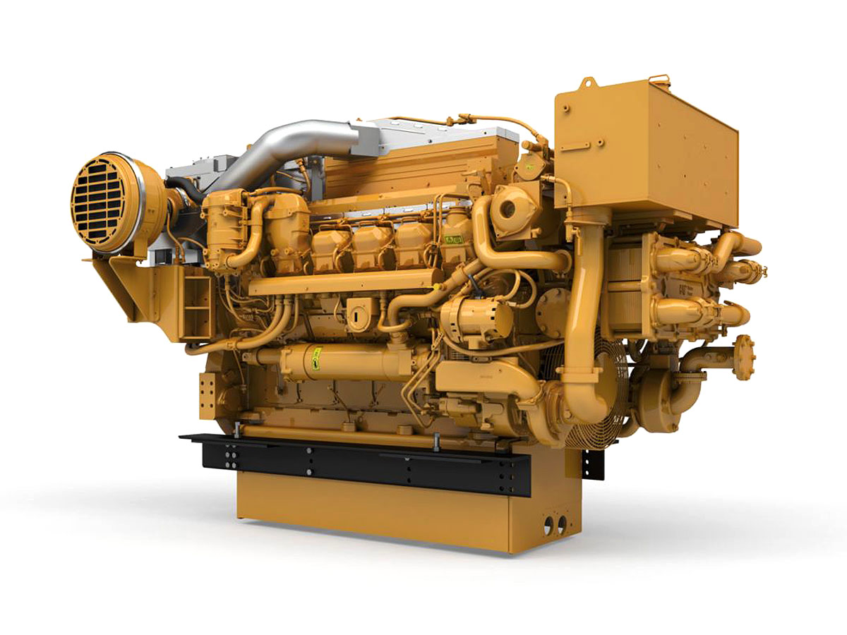 CAT Marine Propulsion Engine 3512E