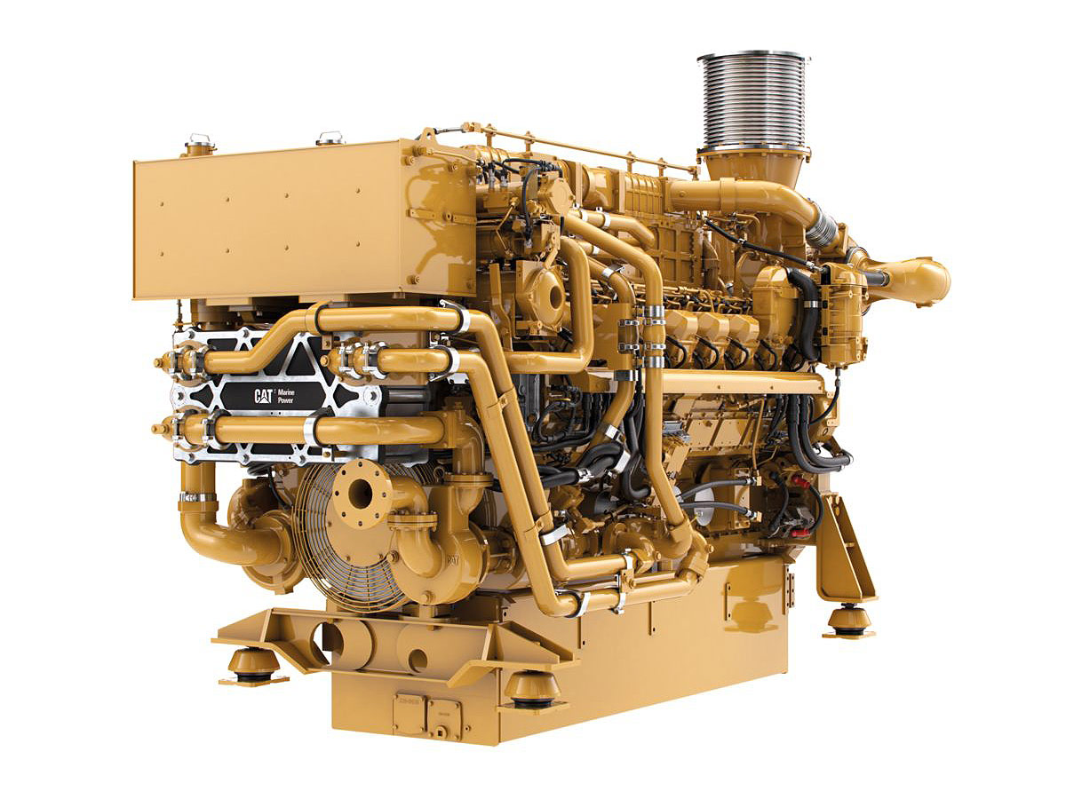 CAT Marine Propulsion Engine 3516E