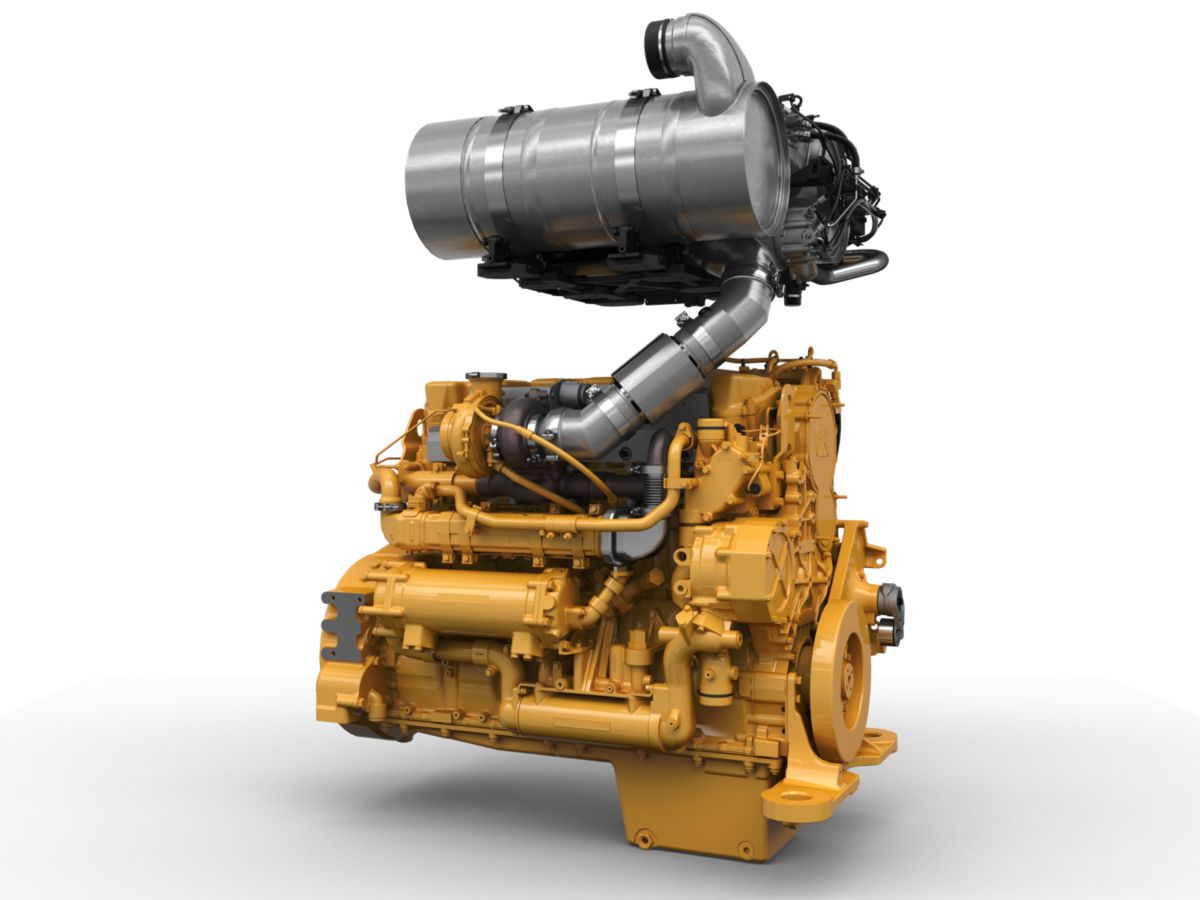 CAT Final Engine C15 ACERT