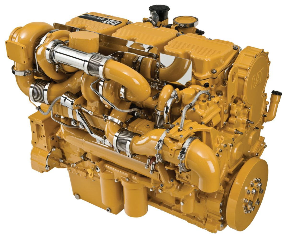CAT Final Engine C18 ACERT
