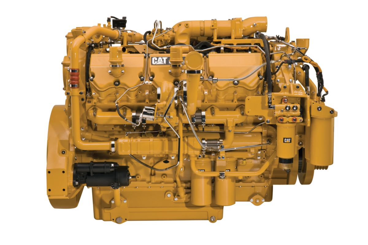 CAT Final Engine C32 ACERT