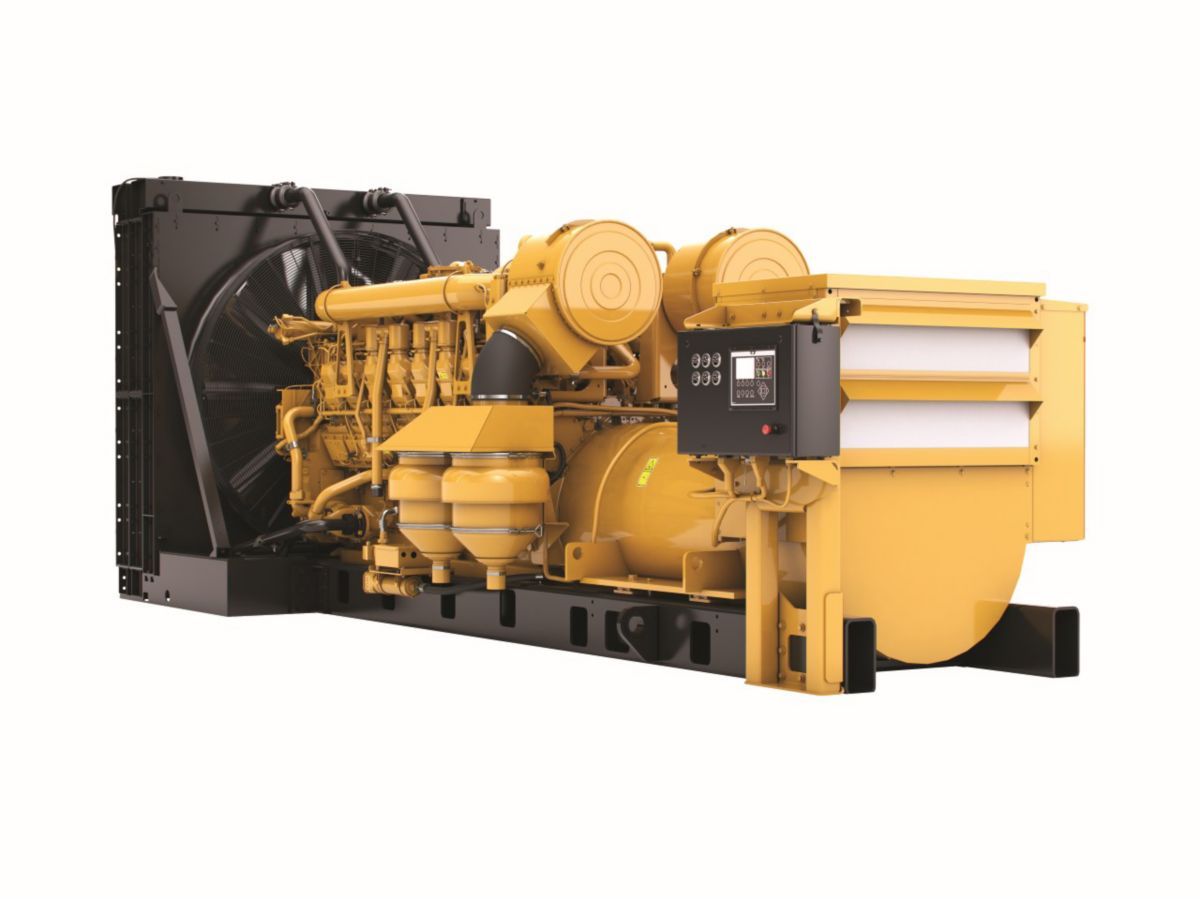 CAT Diesel Generator Set with Dynamic Gas Blending 3516B