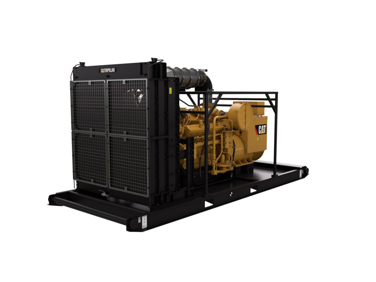 CAT Oilfield Gas Generator Set CG137-12
