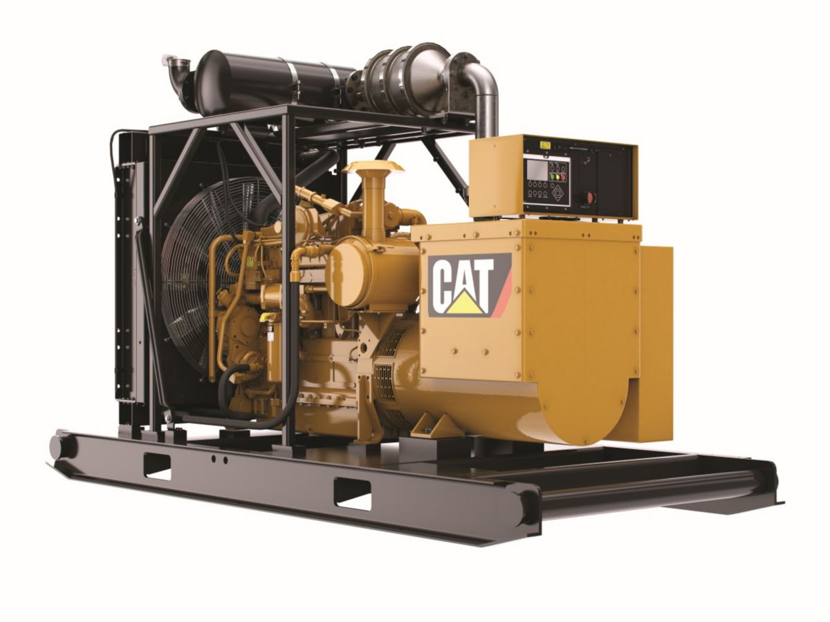 CAT Oilfield Gas Generator Set G3306B