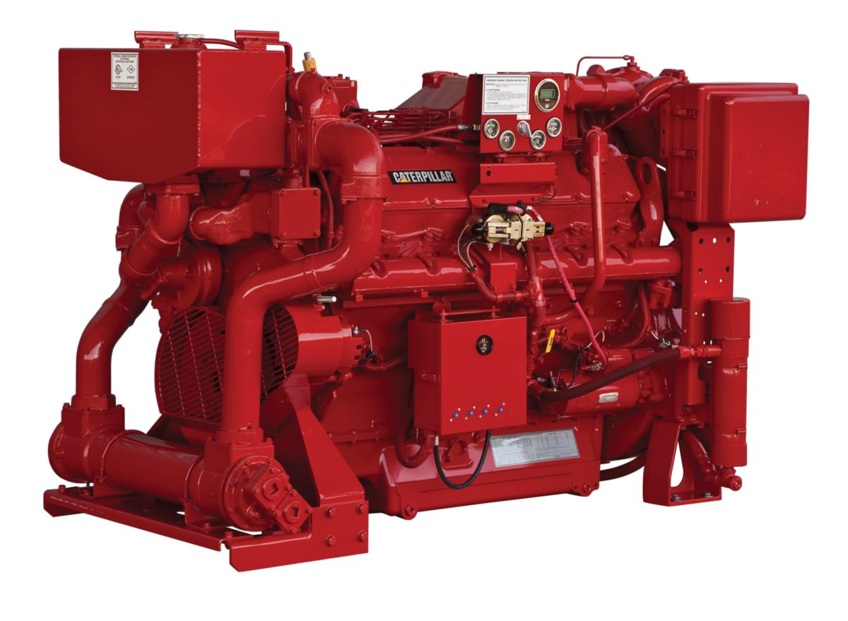 CAT Offshore Production Engine 3412