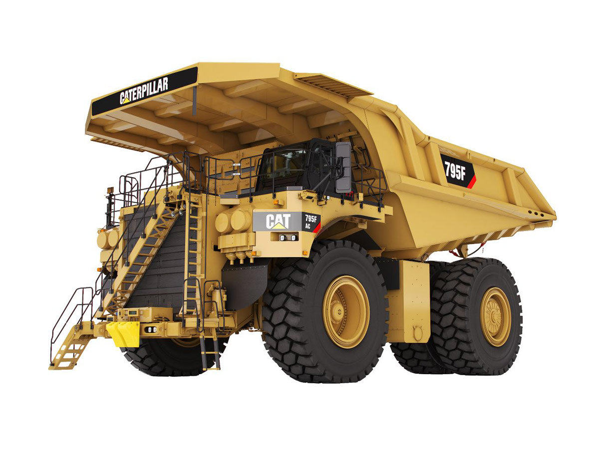CAT Mining Trucks 795F AC
