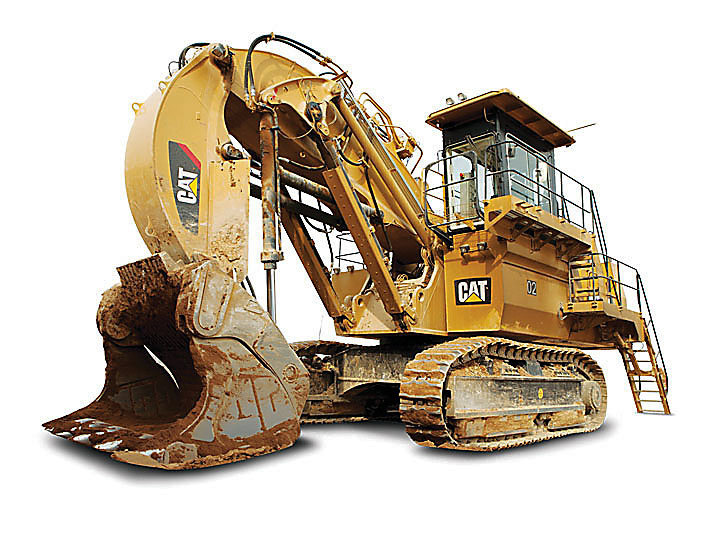 CAT Hydraulic Shovels 6018 FS